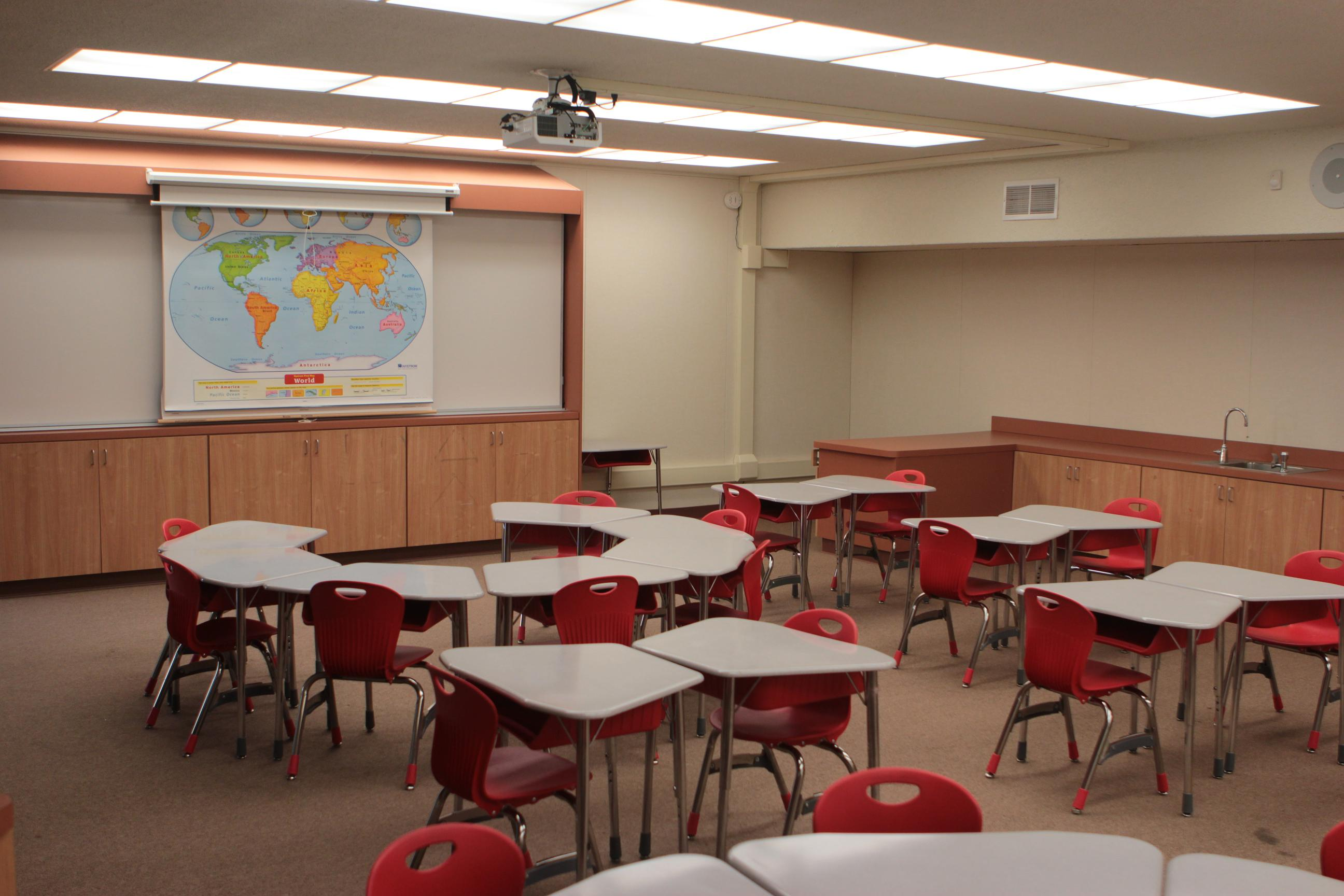 Classroom Furnitures : Facility enlighten enrichment school after
